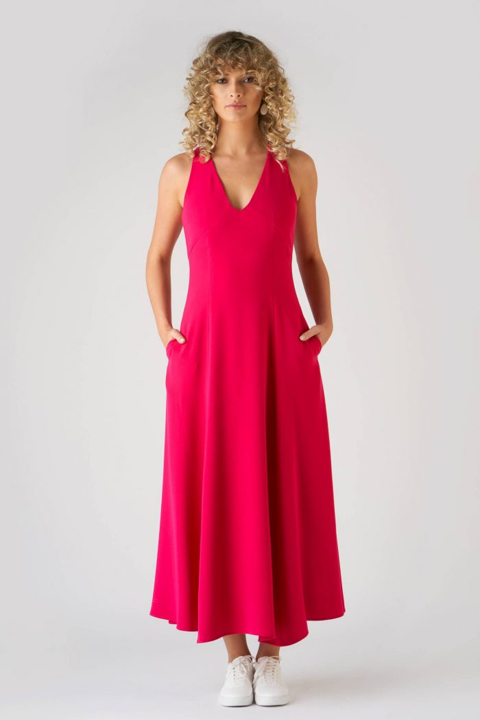 Rochie Amely Fucsia
