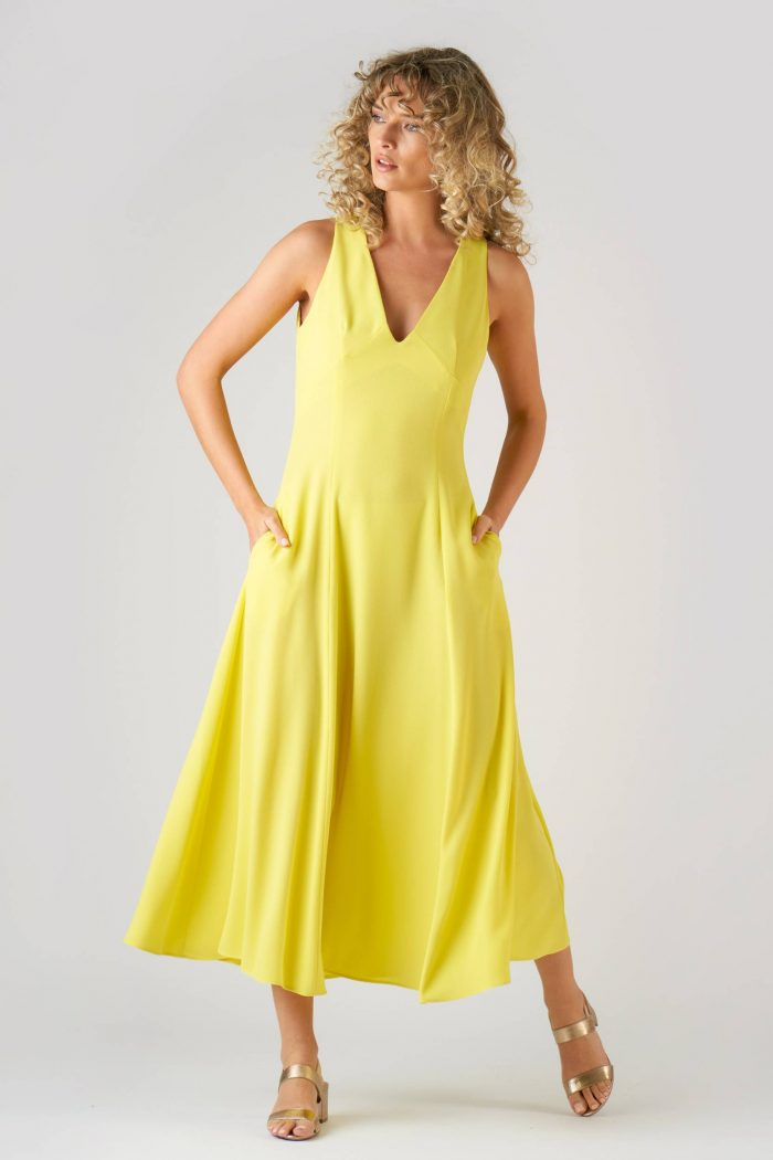 Rochie Amely Yellow