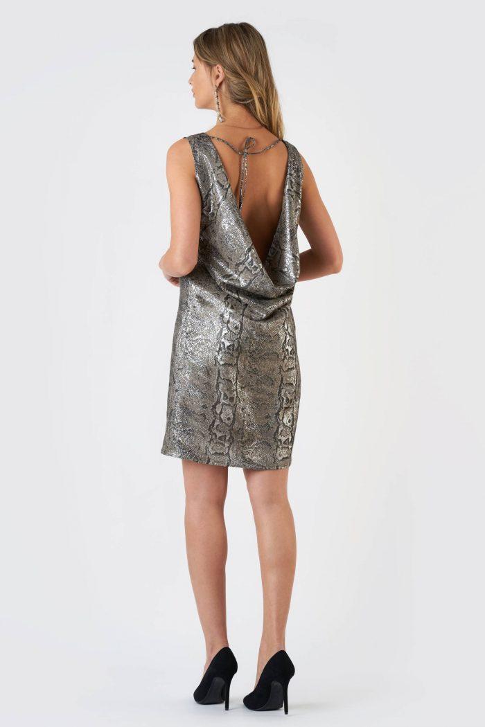 Rochie Clemance Silver