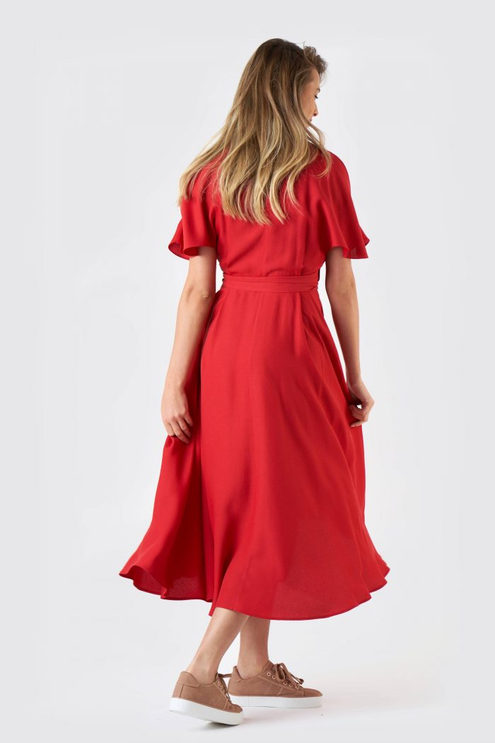 Rochie Desiree Red