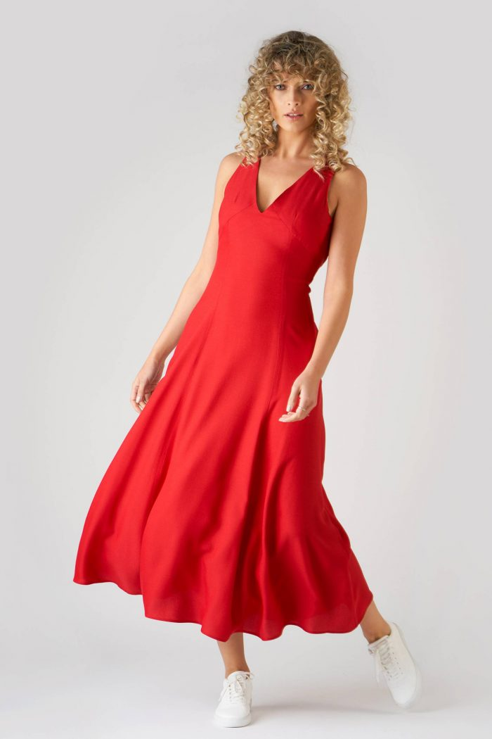 Rochie Amely Red