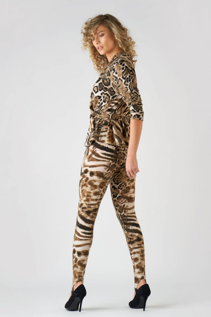 Pantalon Lina Animal Print