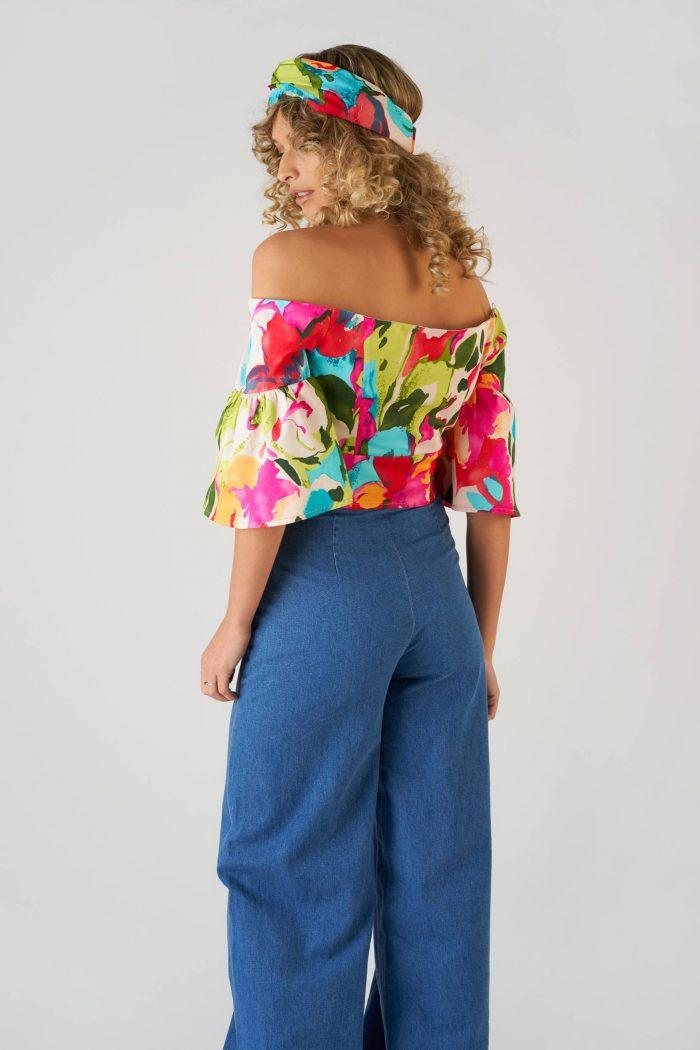 Bluza Delia Multicolor