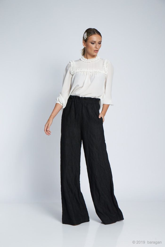 Pantaloni Pia Black