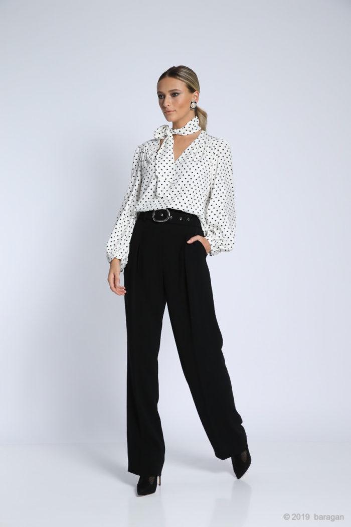 Pantaloni Pilar Black