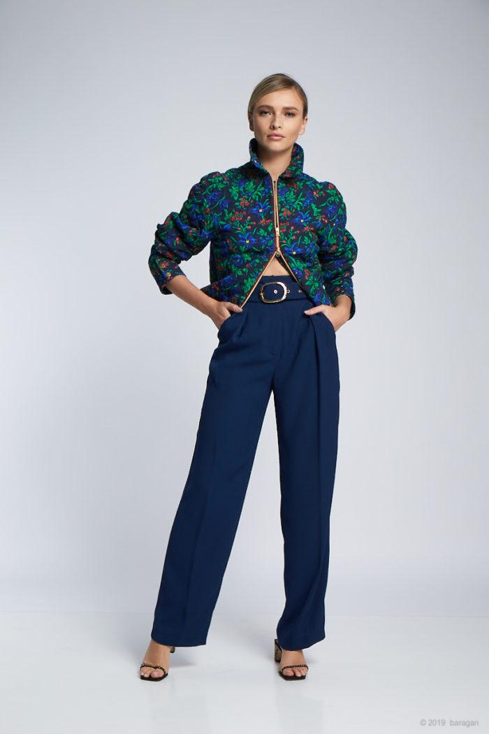 Pantaloni Pilar Blue