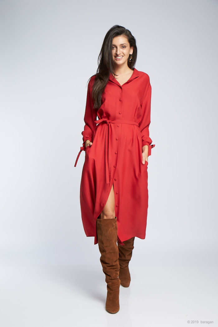 Rochie Xenia Red