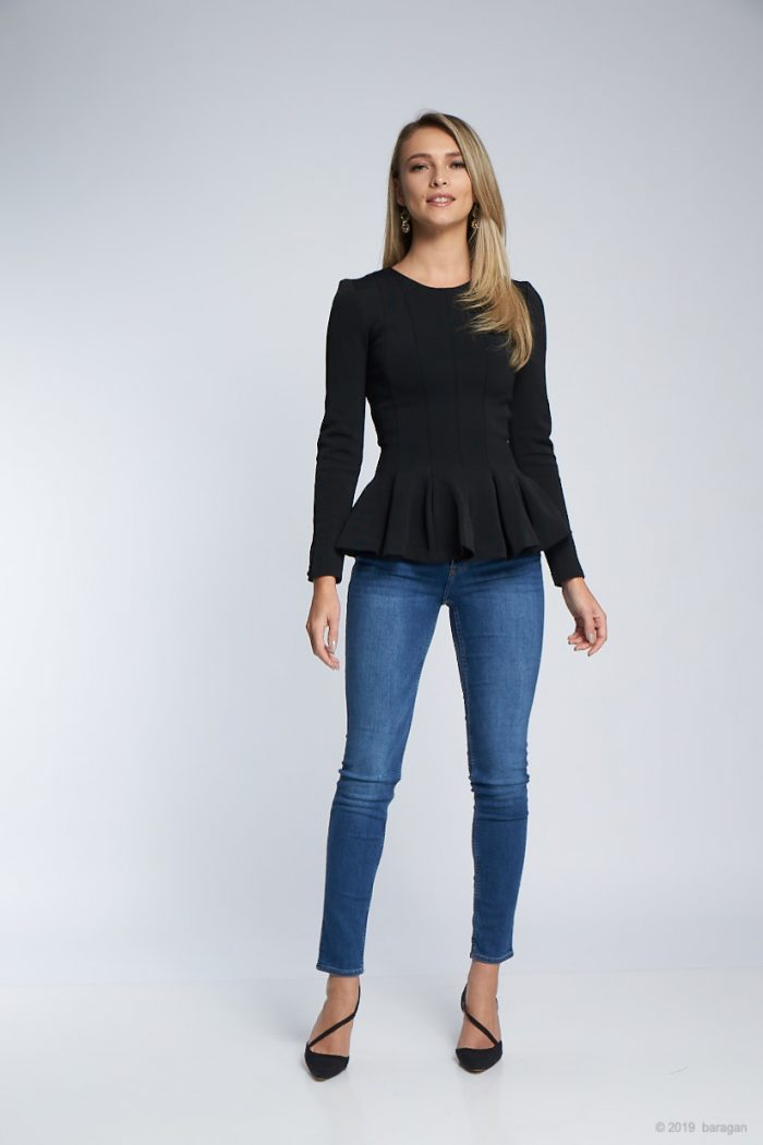 Bluza Balerina Black