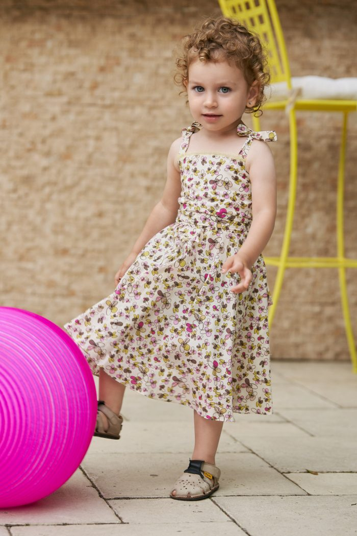 Rochie Mini Me Butterfly Pink