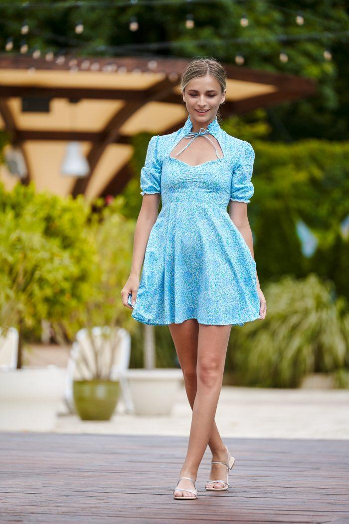 Rochie Alice Bleu S